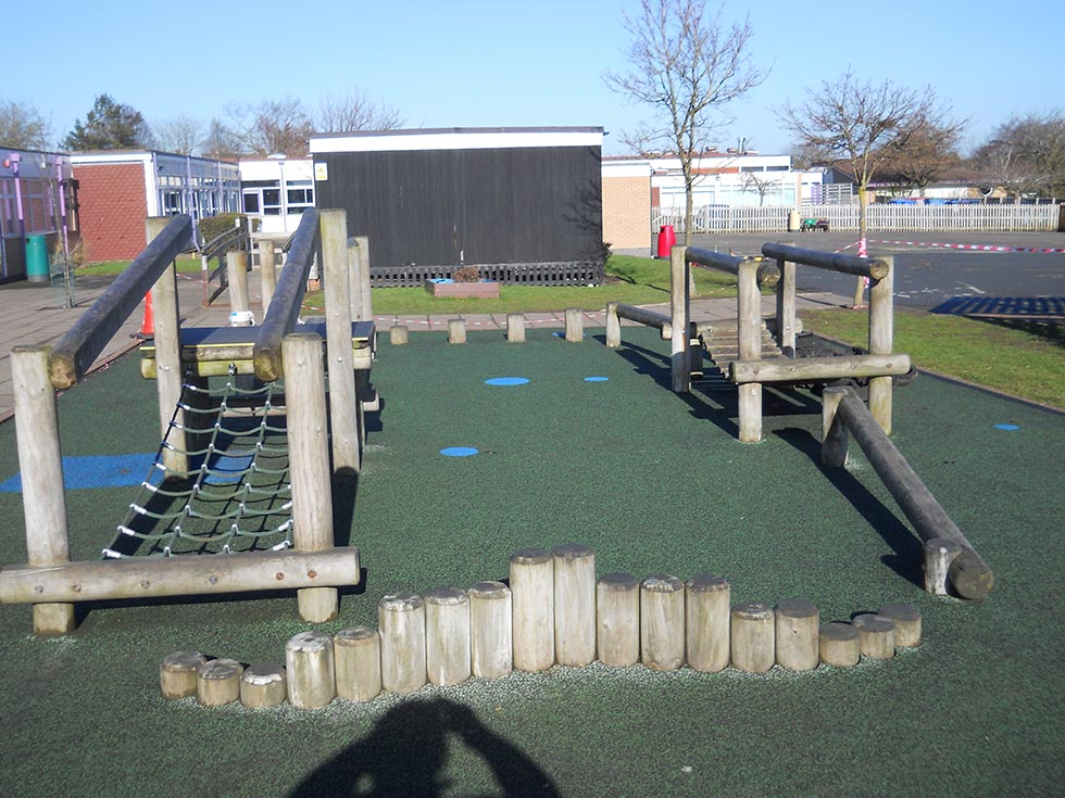 School Play Area - Warwickshire